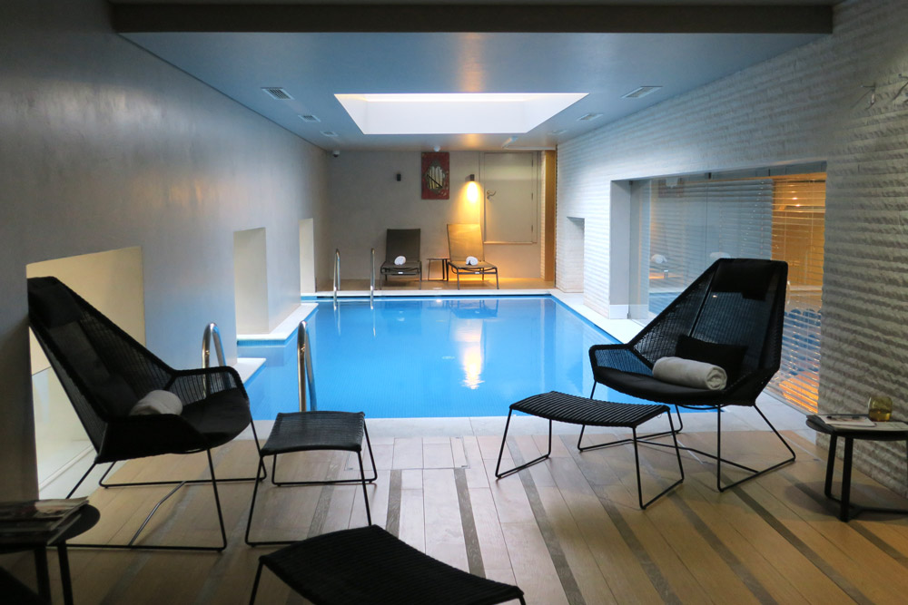Pool at Pousada de Lisboa, Lisbon, Portugal