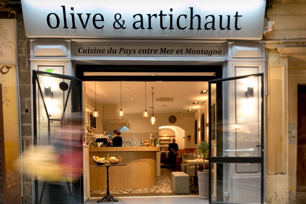 The exterior of <em>Olive & Artichaut</em>