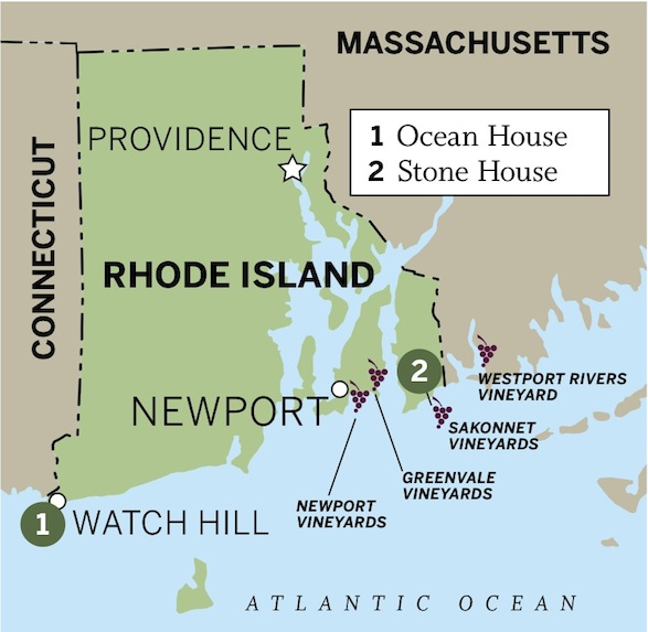 Reinventing A Classic Vacation In Rhode Island - Where is rhode island
