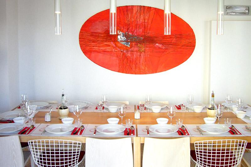 Dining room at Ristorante Solociccia