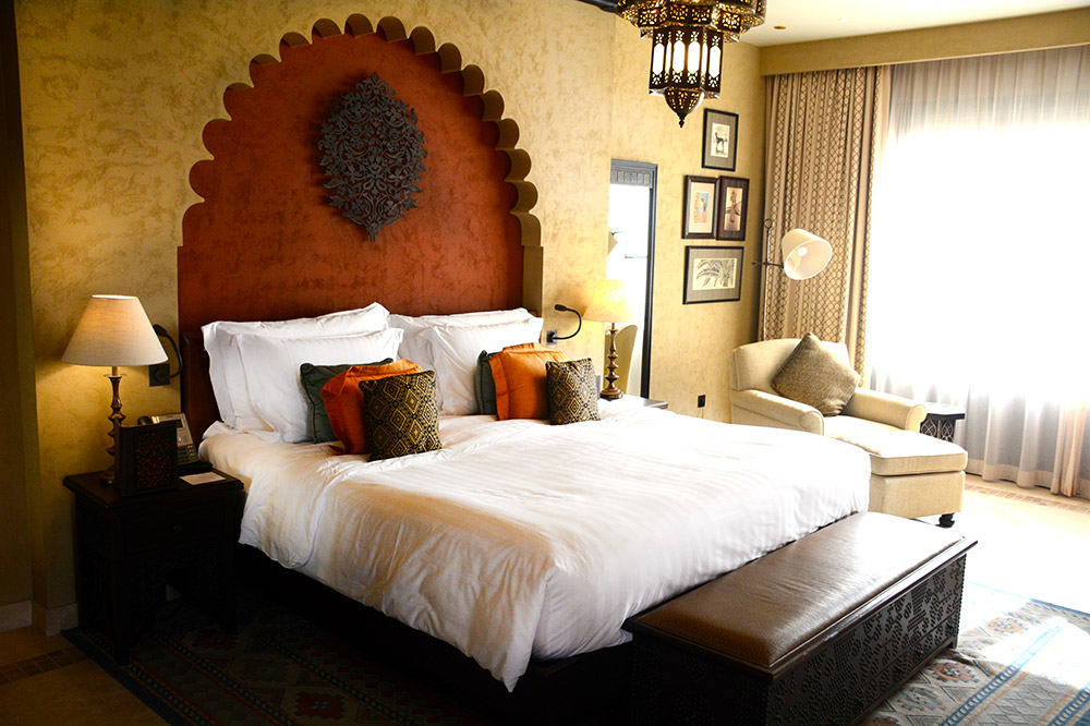 Our Deluxe Terrace Room at Qasr Al Sarab Desert Resort, Abu Dhabi, UAE