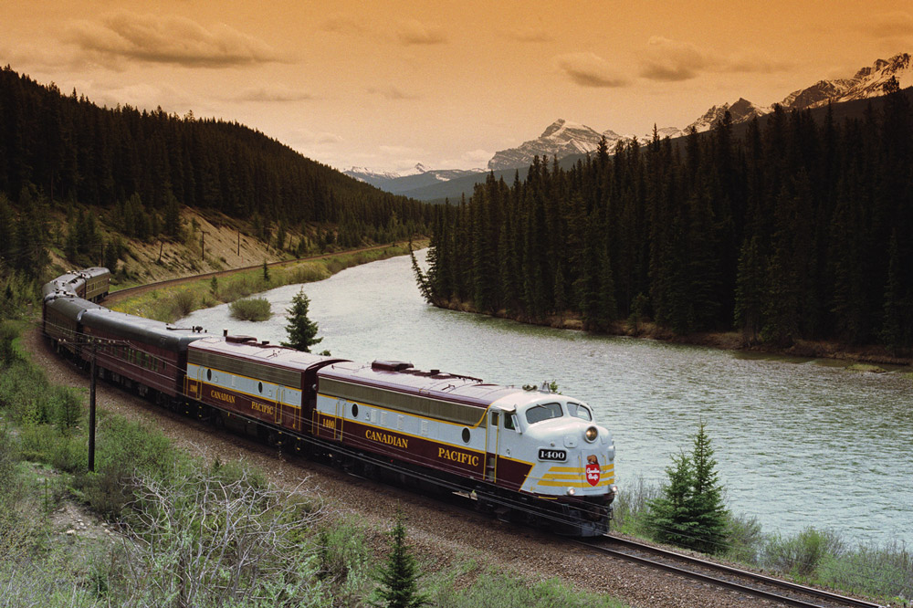 The restored vintage cars of the Royal Canadian Pacific