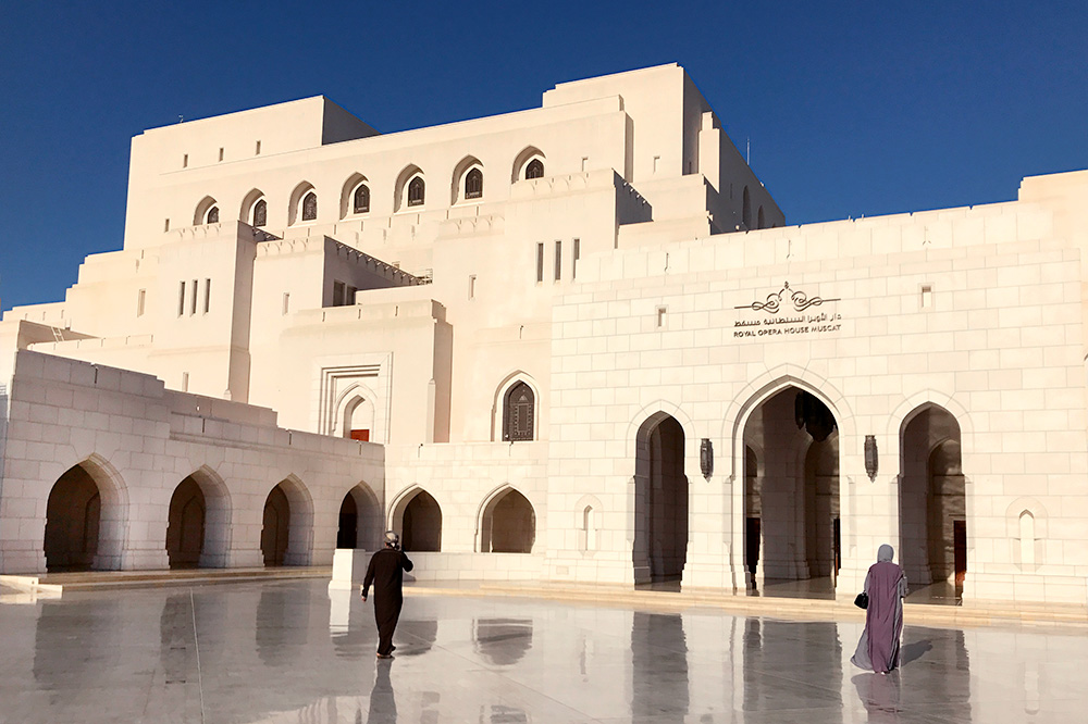 Completed in 2011, the Royal Opera House Muscat has seen performances by stars such as Placido Domingo and Renée Fleming, Muscat, Oman