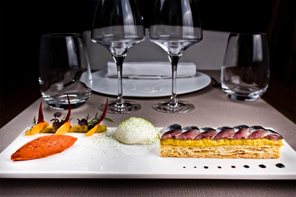 A seasonal dish from <em>Mickaël Féval</em> in Aix-en-Provence, France