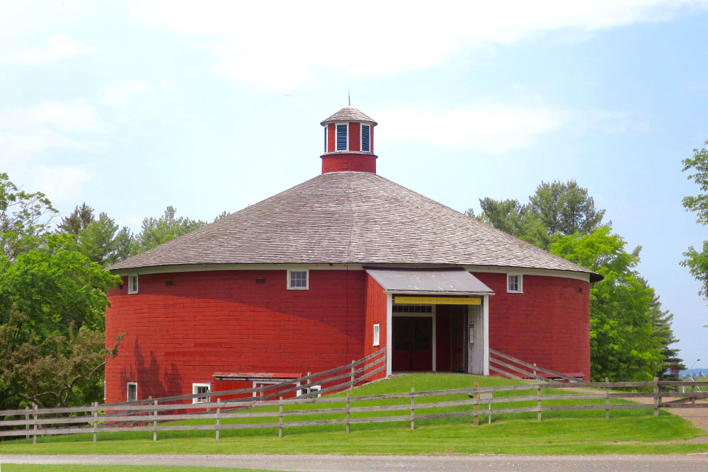 """Round Barn"" at the Shelburne Museum"