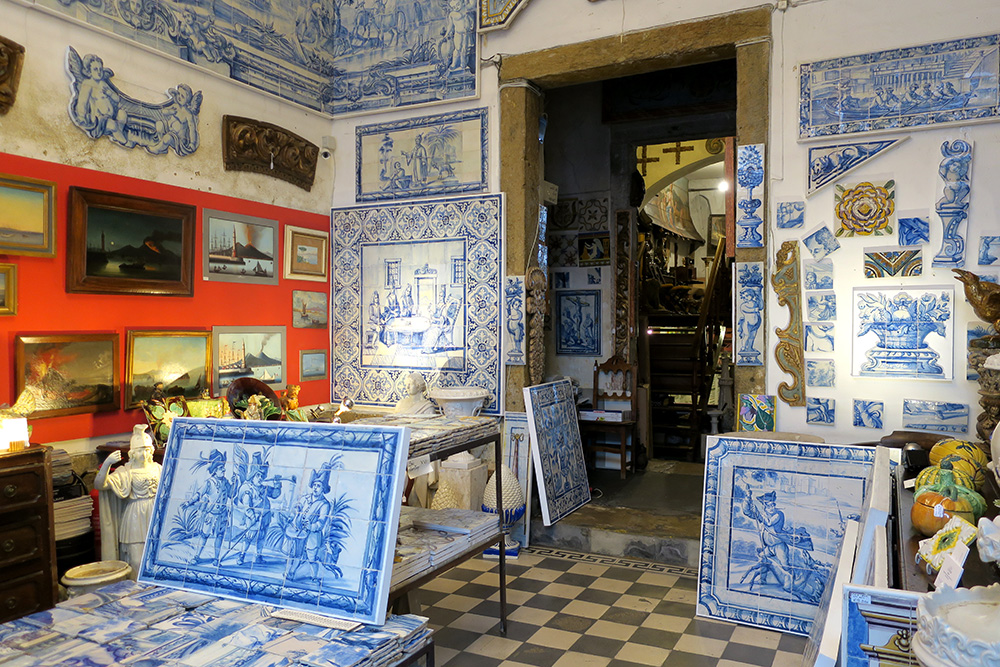 <em>Azulejos</em> from Solar Antiques in Lisbon, Portugal
