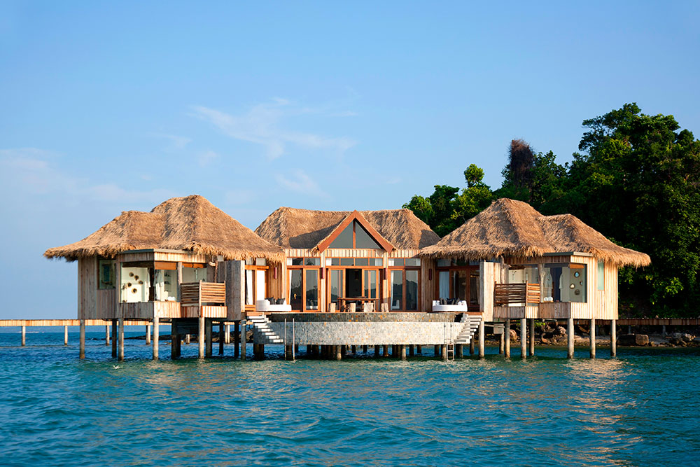 Two-bedroom Overwater Villa at Song Saa