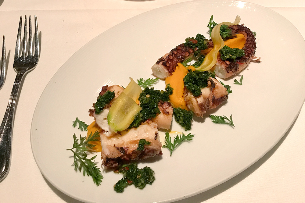 Spanish octopus from <em>Barolo Grill</em> in Denver, Colorado