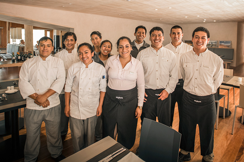Staff at explora Valle Sagrado in Sacred Valley, Peru