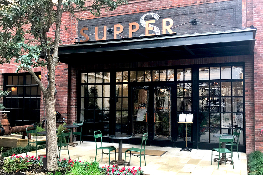 The exterior of Supper Restaurant at Hotel Emma - Photo by Andrew Harper