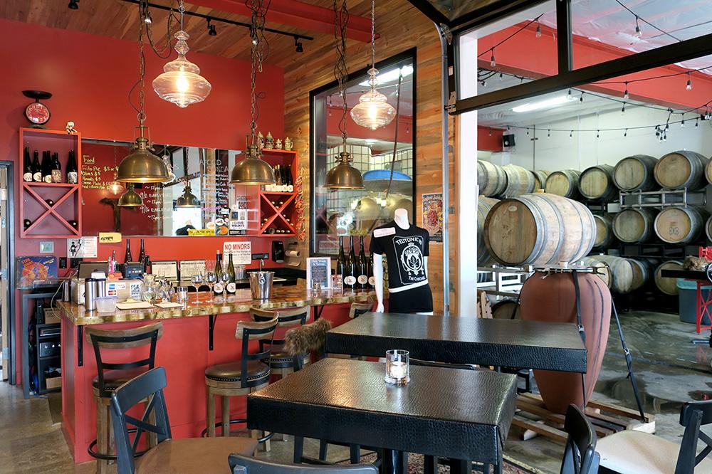 The interior of Teutonic Wine Company in Portland, Oregon
