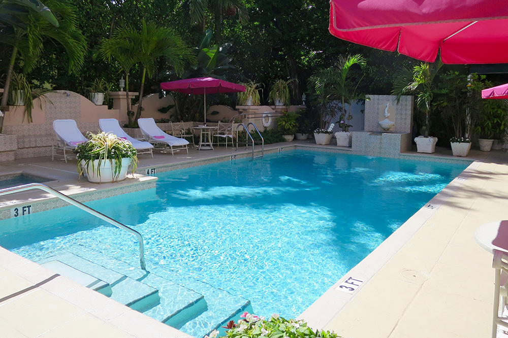 The pool at The Chesterfield