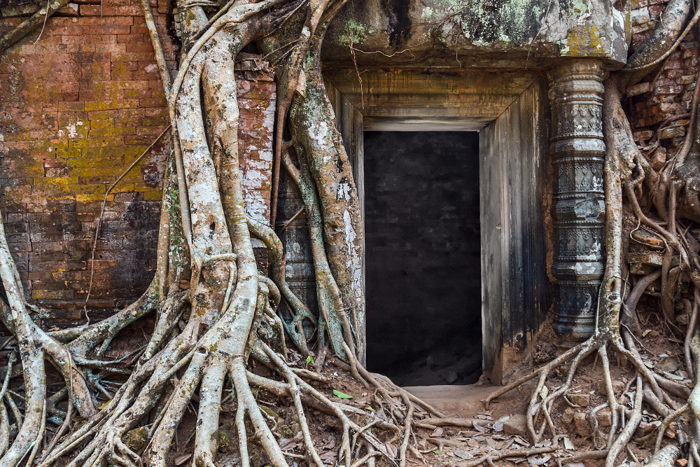 The ancient Koh Ker temple hidden in the jungle of Cambodia