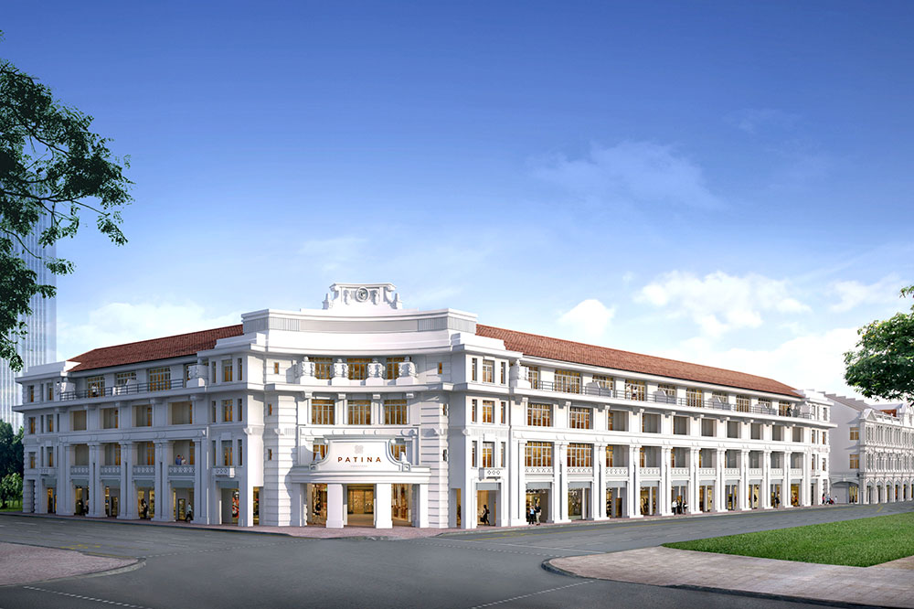 A rendering of The Patina, Capitol Singapore, set to open in late 2018