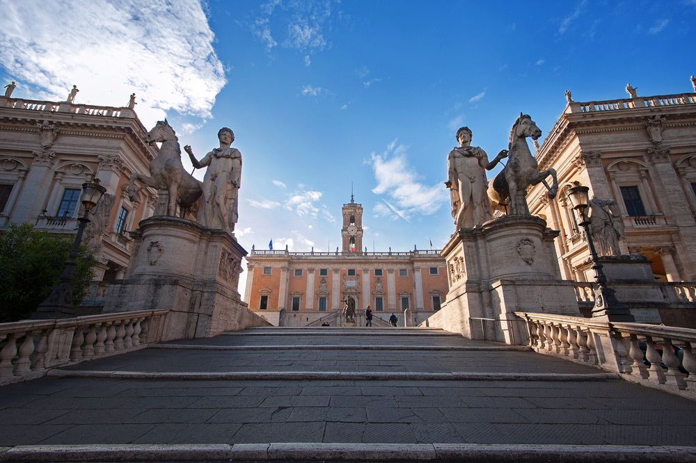 Capitoline Stairway in Rome