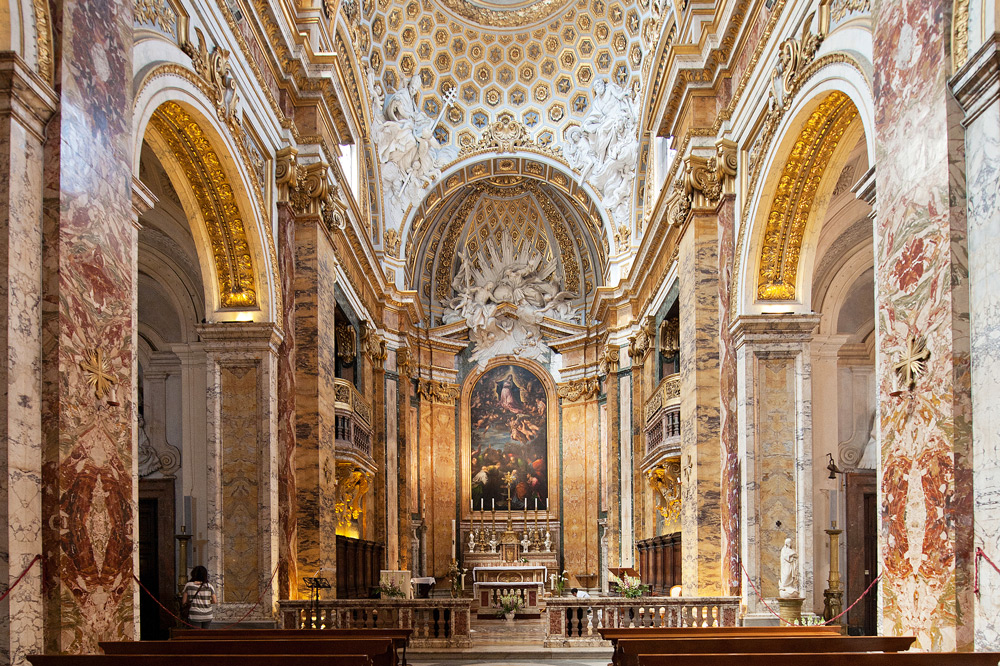 Church of St. Louis of the French in Rome