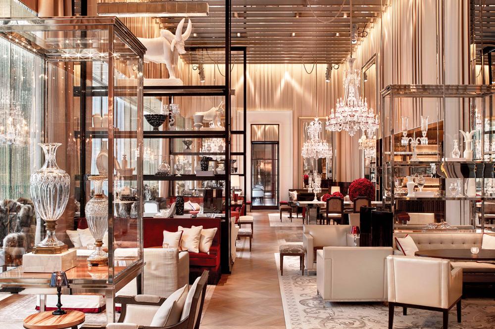 The <em>Grand Salon</em> in the Baccarat hotel