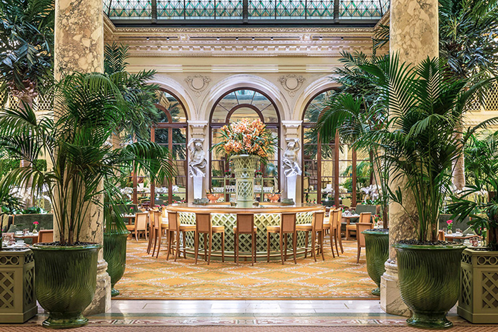 The <em>Palm Court</em> in the Plaza Hotel