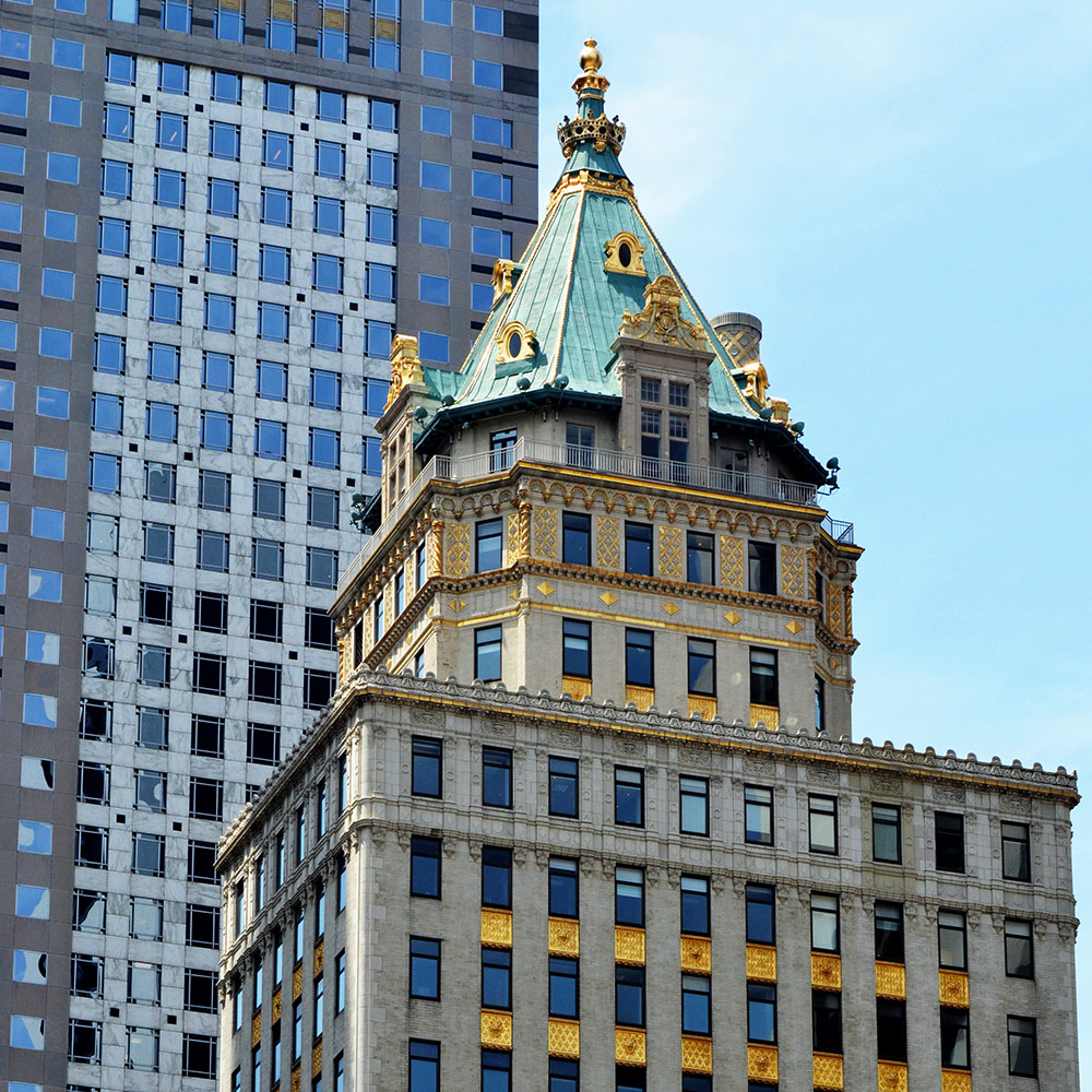 The Crown Building in New York City