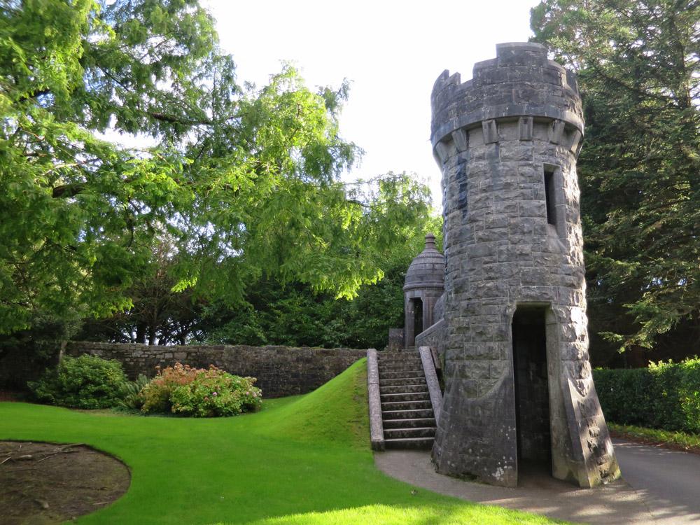 Ashford Castle exterior turret