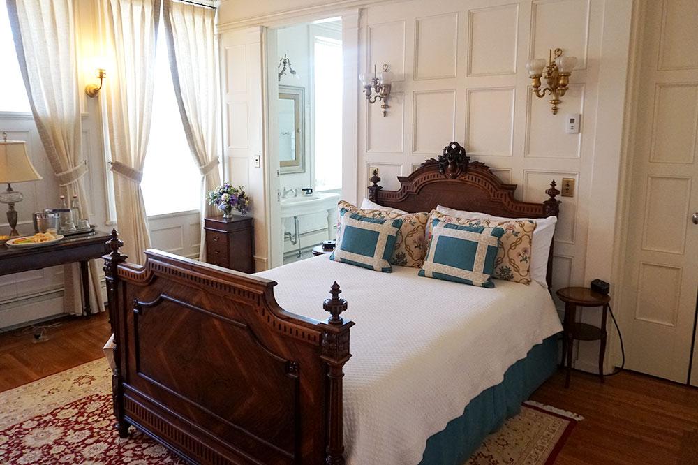 Our suite at Vermejo Park Ranch