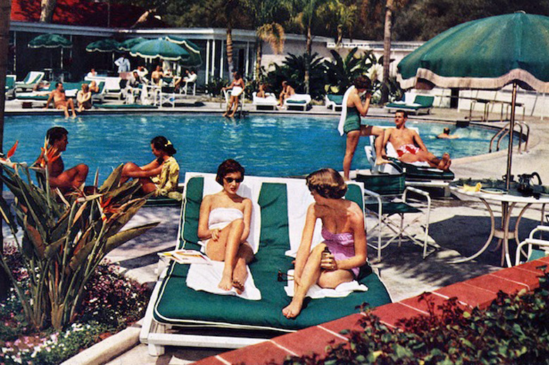 Vintage Photographs From the Hotel Bel-Air, Los Angeles