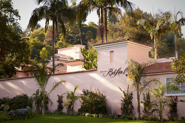 Where Might One Find the Hotel Bel-Air?