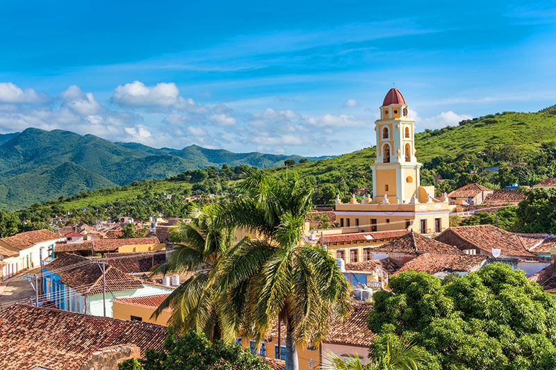 The 16th-century city of Trinidad, Cuba