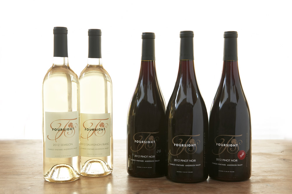 Selection of wines at Foresight Wines