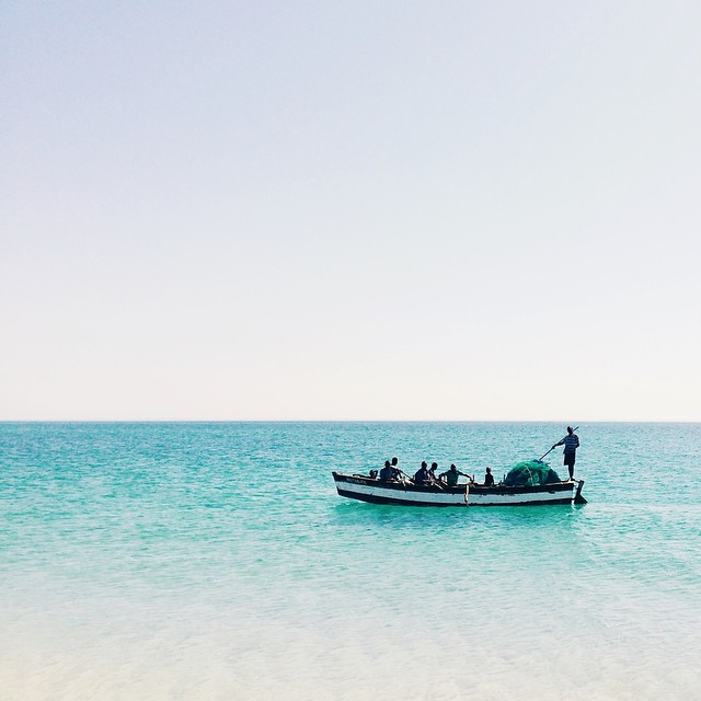 Benguerra Island Fisherman