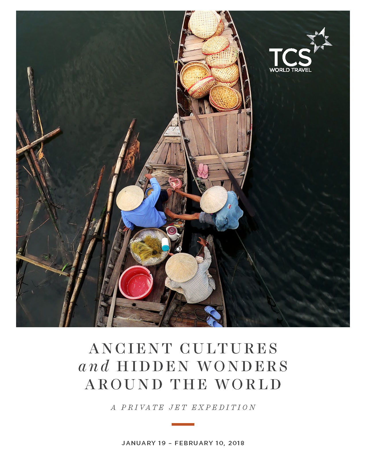 TCS: Ancient Cultures & Hidden Wonders Around the World
