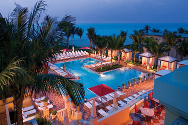 The Beach Club Pool at Acqualina and Spa in Miami, Florida