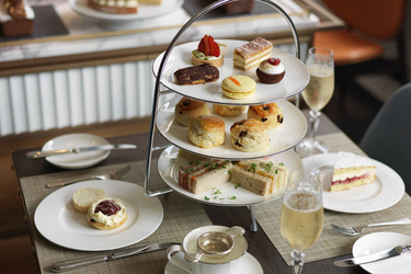 Afternoon Tea at Athenaeum Hotel and Residences in London, England