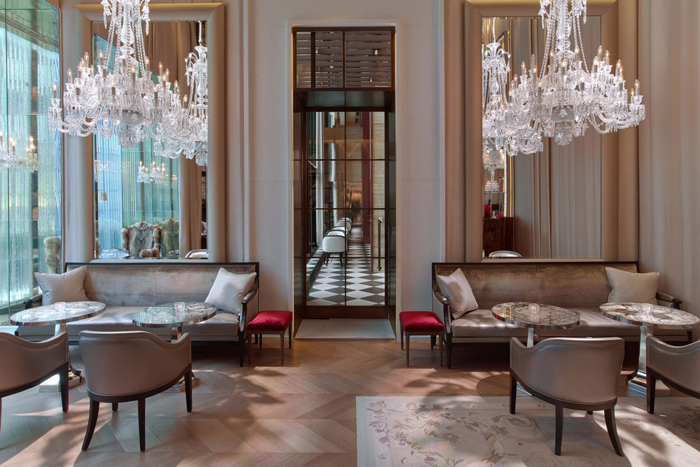 Weekend getaway in new york nyc itinerary andrew for Salon baccarat