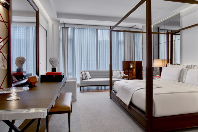 Grand Classic King Bedroom at the Baccarat Hotel