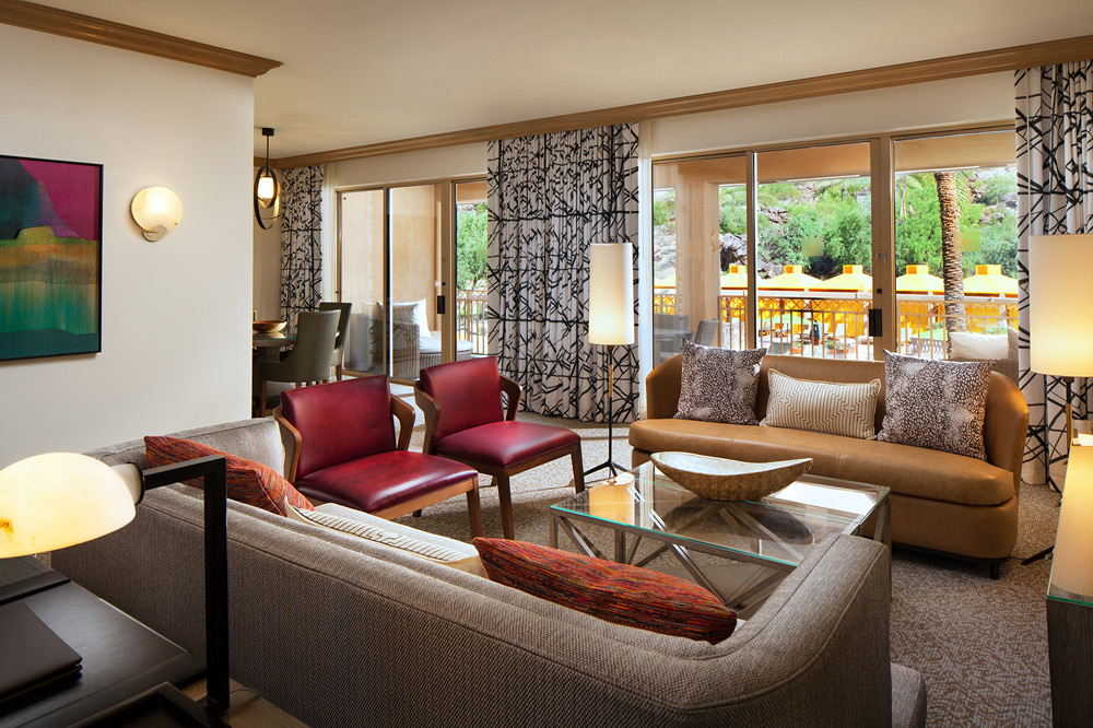 The Canyon Suites At The Phoenician Luxury Hotel In Phoenix Scottsdale Arizona