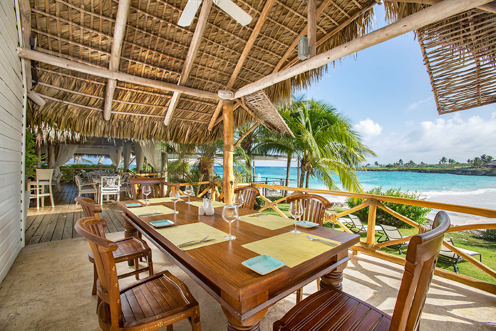 La Palapa restaurant at Eden Roc at Cap Cana