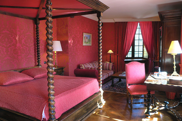 Louis XIII, the junior suite at Château de la Treyne in Lacave, France