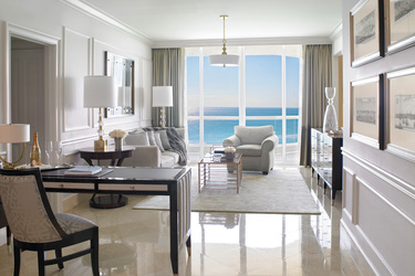 The Deluxe One Bedroom at Acqualina and Spa in Miami, Florida