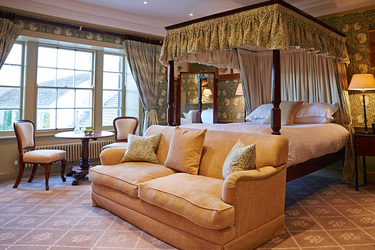 A suite at The Devonshire Arms Hotel & Spa on the Bolton Abbey estate in North Yorkshire, England