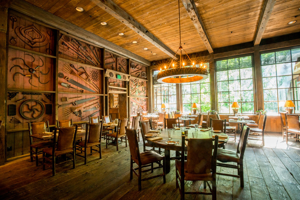 The Foundry Gril at Sundance Mountain Resort in Sundance, Utah