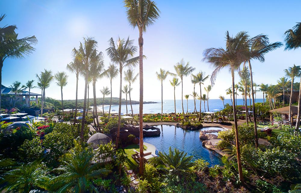 Four seasons resort lanai luxury hotel in lanai hawaii for Pool lanai cost