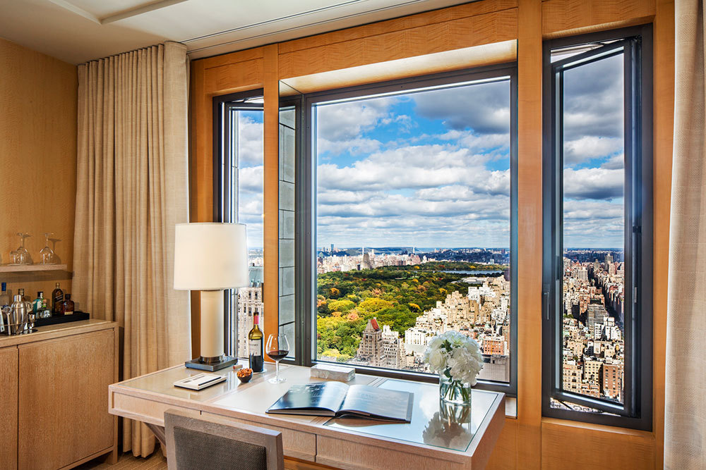 Central Park Suite with terrace at Four Seasons Hotel New York in New York, New York, United States