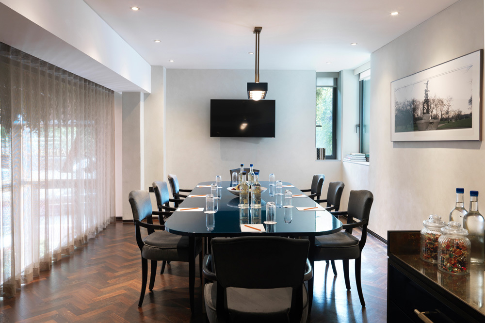 The Green Park Meeting Room at Athenaeum Hotel and Residences in London, England