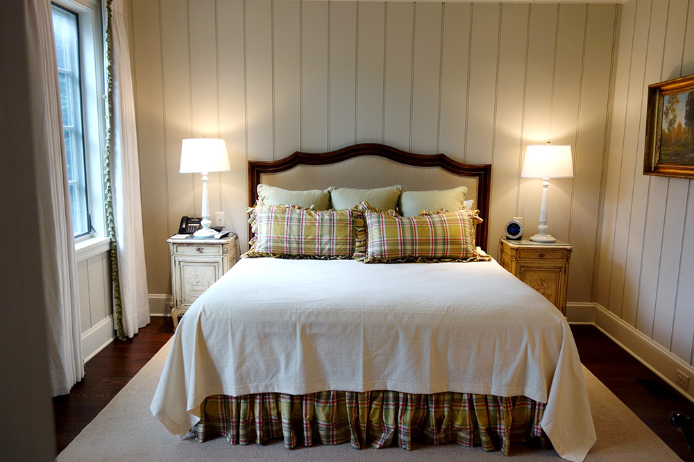 Our Falls Cottage room at Old Edwards Inn and Spa in Highlands, North Carolina