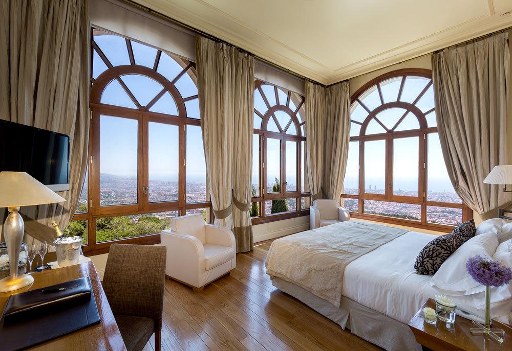 Gran hotel la florida luxury hotel in barcelona spain for Hoteles con encanto bcn