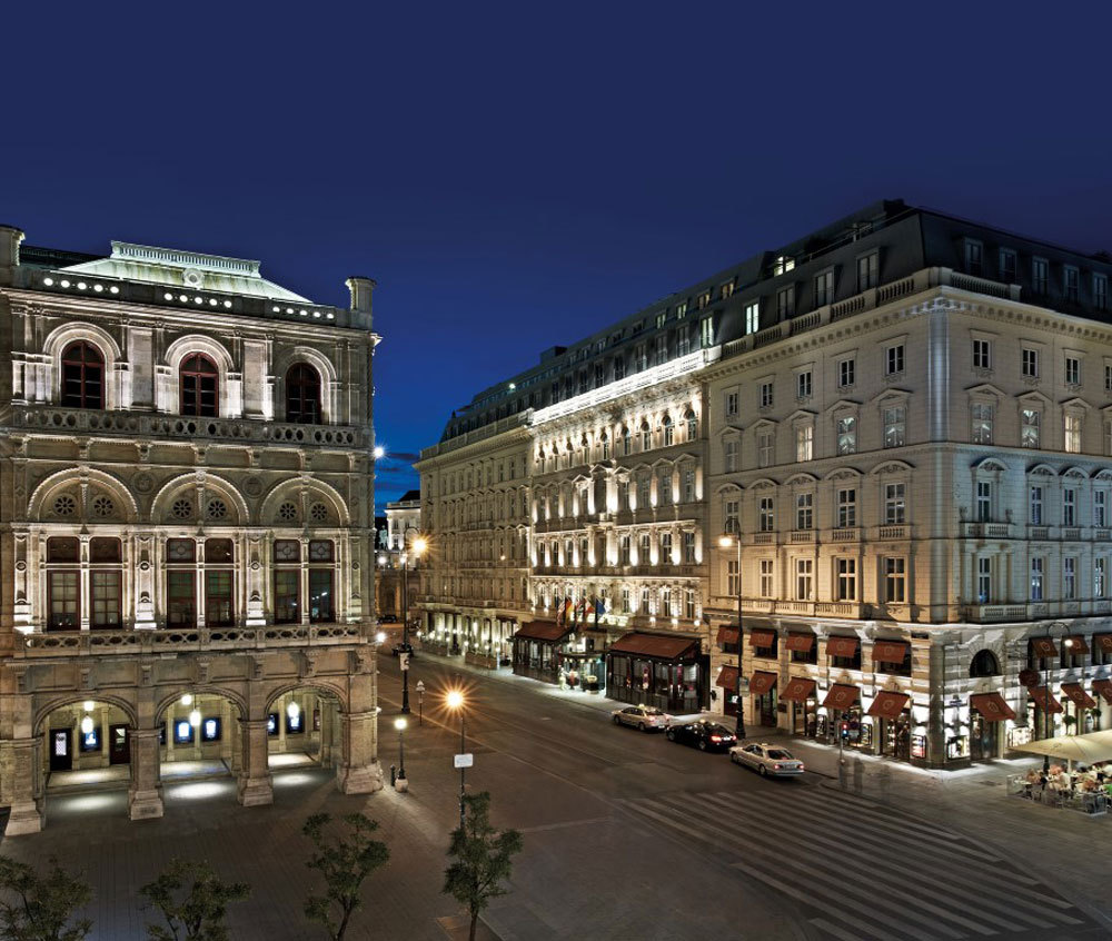 Hotel Sacher Wien Luxury Hotel In Vienna Austria