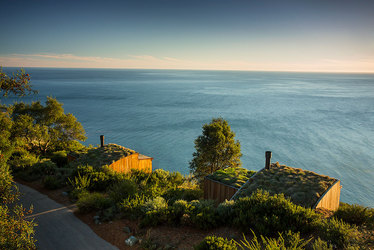 The Ocean Houses at Post Ranch Inn in Big Sur, California, United States