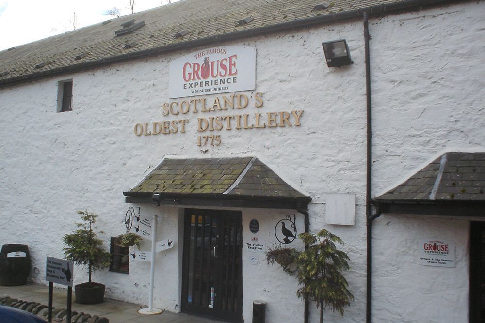 Grouse Distillery, Gleneagles