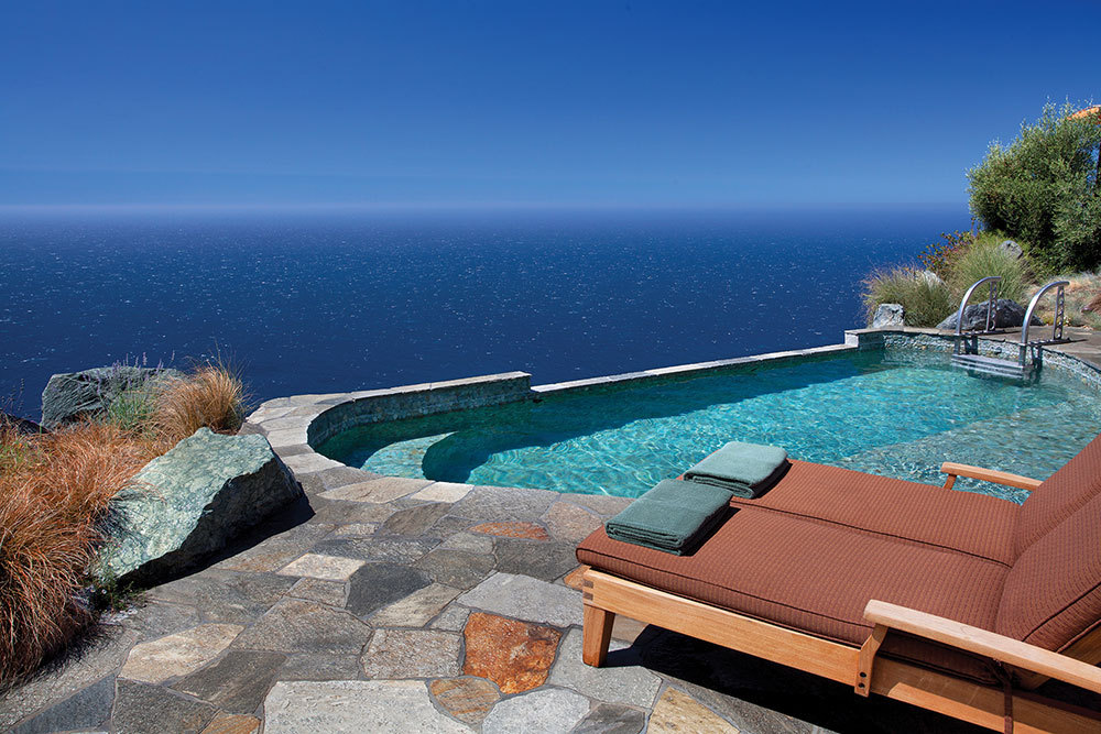 The Jade Pool at Post Ranch Inn in Big Sur, California, United States